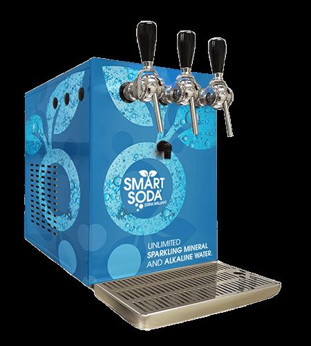flavored sparkling water machine